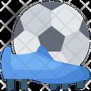Football Sports Pastime Icon