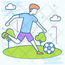 Soccer Football Sports Accessory Icon