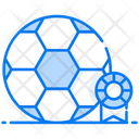 Football Soccer Sports Accessory Icon