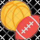 Sport Equipment Basketball Icon