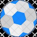 Football Checkered Ball Sports Icon