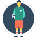 Football Player Soccer Icon