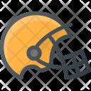 Football Helmet Fittness Icon