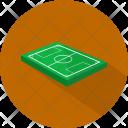 Football Field Sport Icon