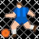 Football Football Player Soccer Icon