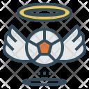 Football Ball Halo Icon
