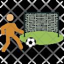 Football Player Goal Icon