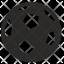 Football Equipment Ball Icon