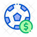Soccer Ball Betting Icon