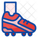Football Boot Footwear Sports Kit Icon