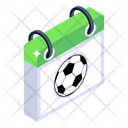 Sports Calendar Sports Schedule Football Calendar Icon