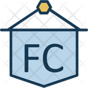 Football Club Hanging Info Icon