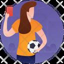 Football Ticket Handball Olympic Sports Icon