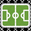 Football Field Football Pitch Soccer Field Icon