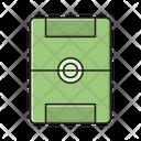 Stadium Ground Soccer Icon