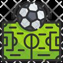 Football Field Field Soccer Icon