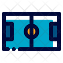 Football Fields Soccer Game Icon