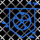 Football flag Icon