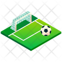 Football Foeld Soccer Field Soccer Icon