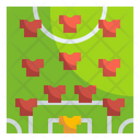 Football Formation Formation Soccer Icon