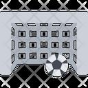 Football Goal Soccer Goal Icon