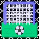 Football Net Goal Net Sports Field Icon