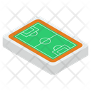 Football Ground Football Pitch Football Field Icon