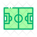 Football Competition Field Icon