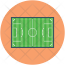 Football Ground Pitch Icon