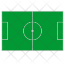 Football Field Grass Icon