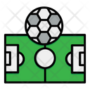 Football Ground Field Icon