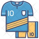 Soccer Jersey Team Icon