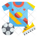 Football Jersey Football Dress Jersey Icon