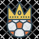 King Football Soccer Icon