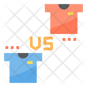 Match Shirt Team Football Match Tshirt Icon