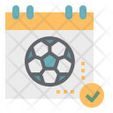 Football Match Schedule Icon