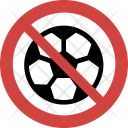 Football not allowed Icon
