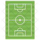 Football Pitch Playground Playing Area Icon