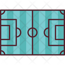 Football Pitch Football Soccer Icon