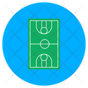 Football Pitch Playground Play Area Icon
