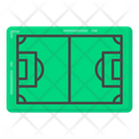 Game Pitch Football Pitch Sports Ground Icon