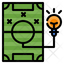 Football Plan Gamification Icon