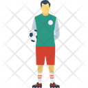 Football Player Soccer Player Sportsman Icon