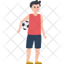 Football Player Boy Male Player Icon