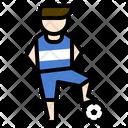 Player Football Coach Icon