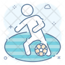 Soccer Player Football Player Sportsman Icon