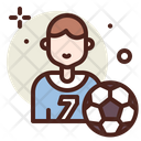 Football Player Player Play Icon
