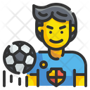 Football Player Player Soccer Icon