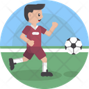 Sports Player Ball Icon