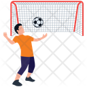 Football Playing Icon
